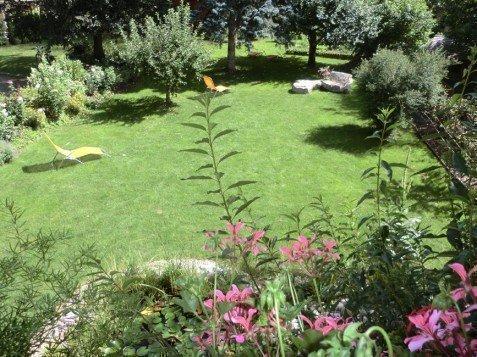Posizione molto tranquilla con ampio giardino