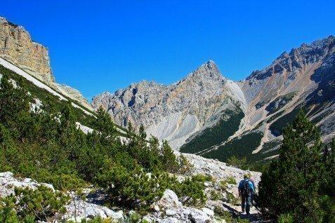 Vacanze escursionistiche sulle Dolomiti
